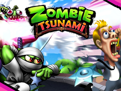 Zombie Tsunami Fun Arcade Game